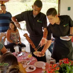 buffet de churrasco de corte