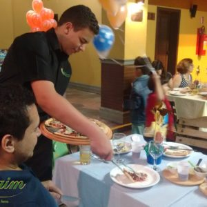 buffet de pizza