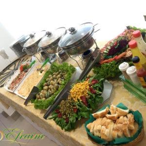 buffet de churrasco de espetinho